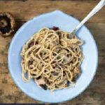 Mushroom and Olive pasta - Stir! It Up