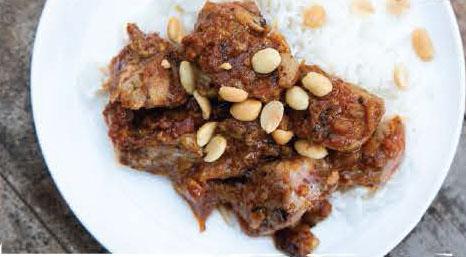 West African Maffė Peanut Sauce