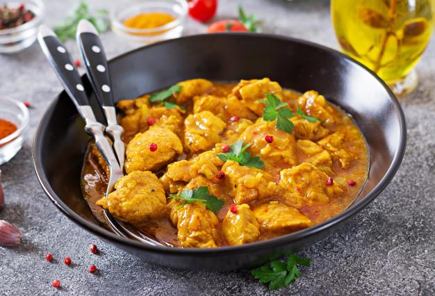 Smoky Curry Sauce